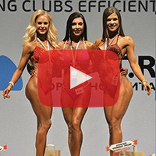 Чемпионат России по бодибилдингу - 2016 (фитнес-бикини, 160 см)