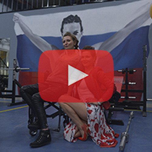 """Видео: открытие спортзала """"Сеткач Gym"""" для людей с ограниченными возможностями"""
