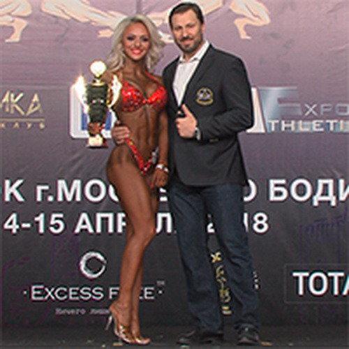 Видео: Кубок Москвы по бодибилдингу - 2018 / бикини, абсолютная категория