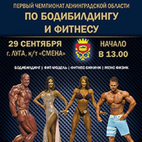 Положение: Чемпионат Ленинградской области по бодибилдингу - 2018