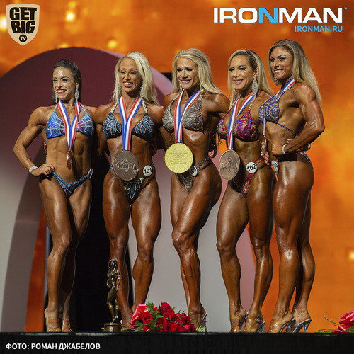 Результаты IFBB Pro League «Fitness Olympia» - 2019