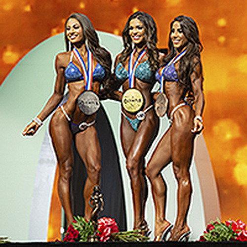 Результаты IFBB Pro League «Bikini Olympia» - 2019