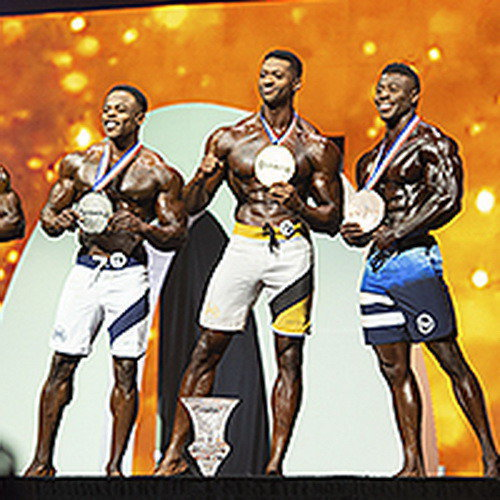 Результаты IFBB Pro League «Men's Physique Olympia» - 2019